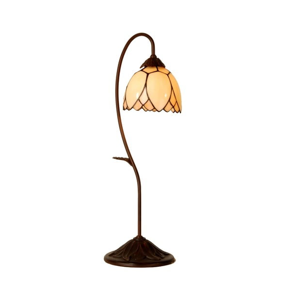 Lampa stołowa Tiffany Elegant Flower