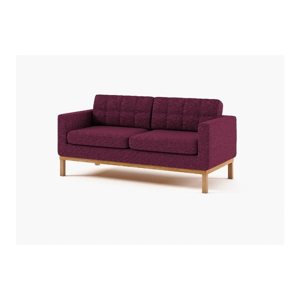 Trzyosobowa sofa Bolton, fioletowa
