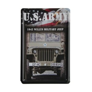Tablica US Army, 15x21 cm