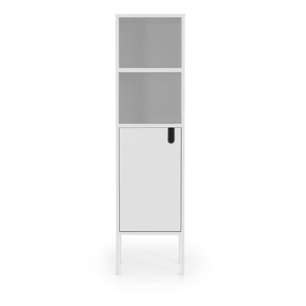 Biała szafka Tenzo Uno, wys. 152 cm