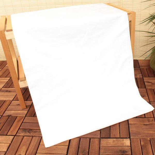 Prześcieradło elastyczne U.S. Polo Assn. White, 100x200 cm