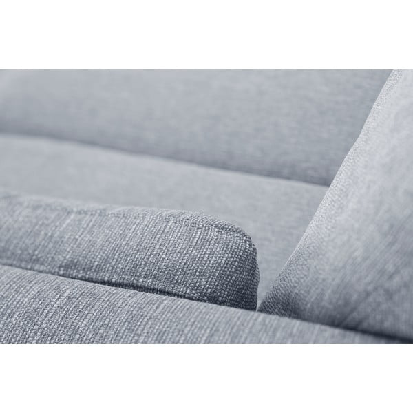 Szara sofa dwuosobowa Jalouse Maison Elisa