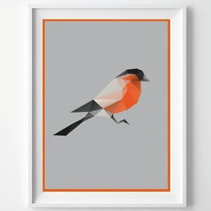 Plakat Birdie, A3