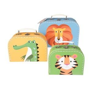 Zestaw 3 kuferków dla dzieci Rex London Colourful Creatures