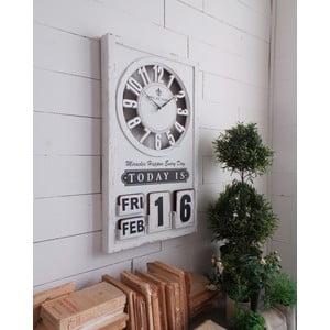 Zegar naścienny Perpetuo Calendar, 71 cm