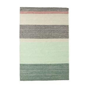 Wełniany dywan Pulvis Plum, 140x200 cm