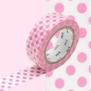 Taśma dekoracyjna washi Dot Dot Pink