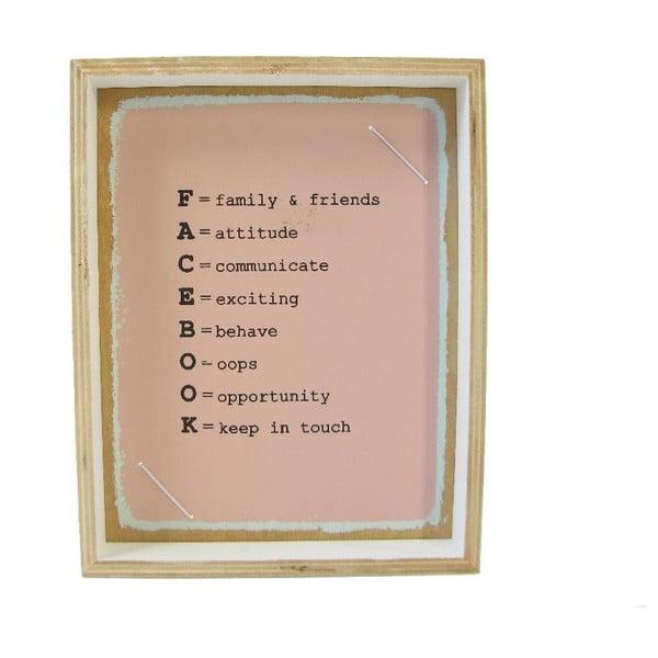 Ramka na zdjęcia Plywood, 19x24 cm