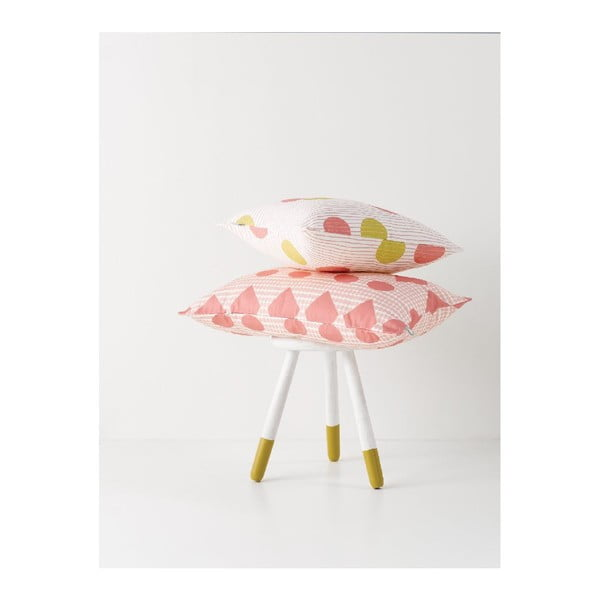 Poduszka Confetti Mustardpink