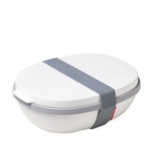 Biały pojemnik na lunch Rosti Mepal Ellipse