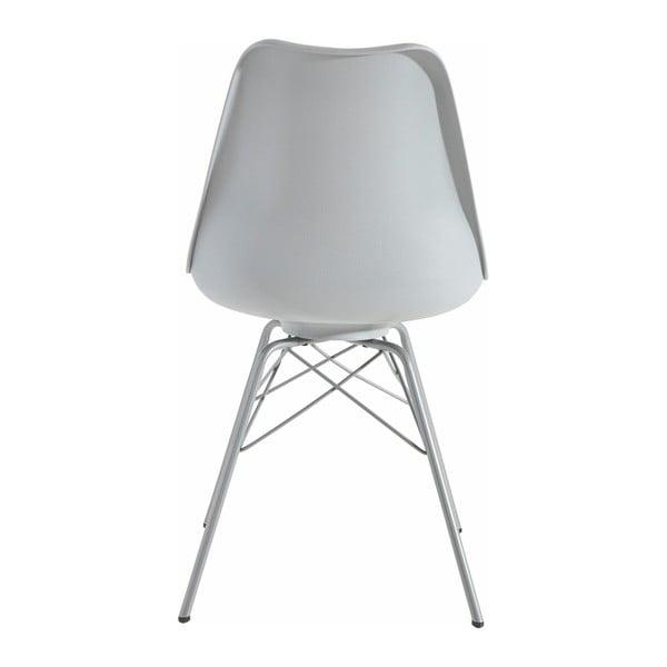 Zestaw 2 szarych krzeseł Støraa Landon