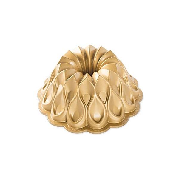 Forma do babki w złotym kolorze Nordic Ware Crown, ⌀ 25 cm