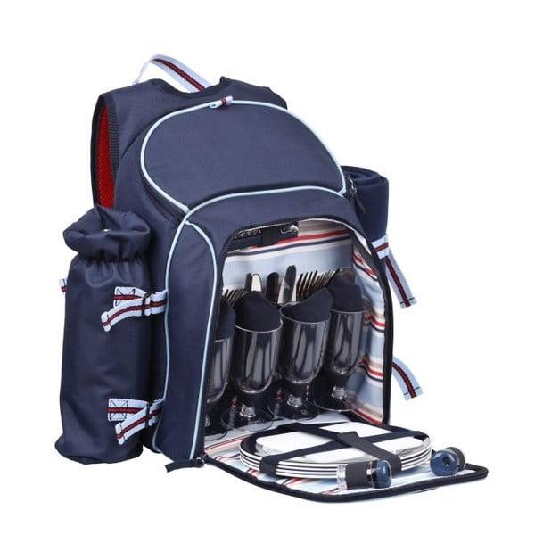 Plecak piknikowy Navy dla 4 osób
