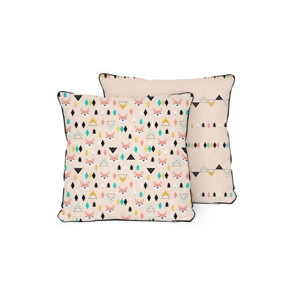Poduszka Pillow Fox, 45x45 cm