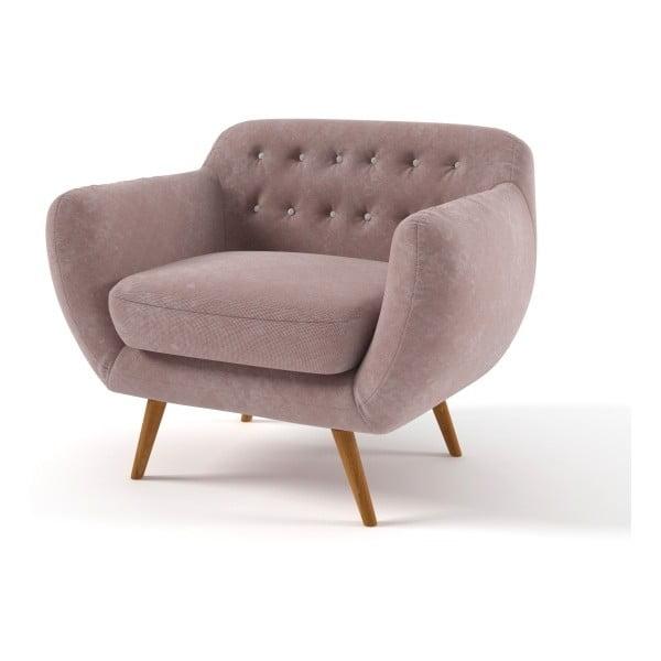 Fotel Indigo, jasnobrązowy
