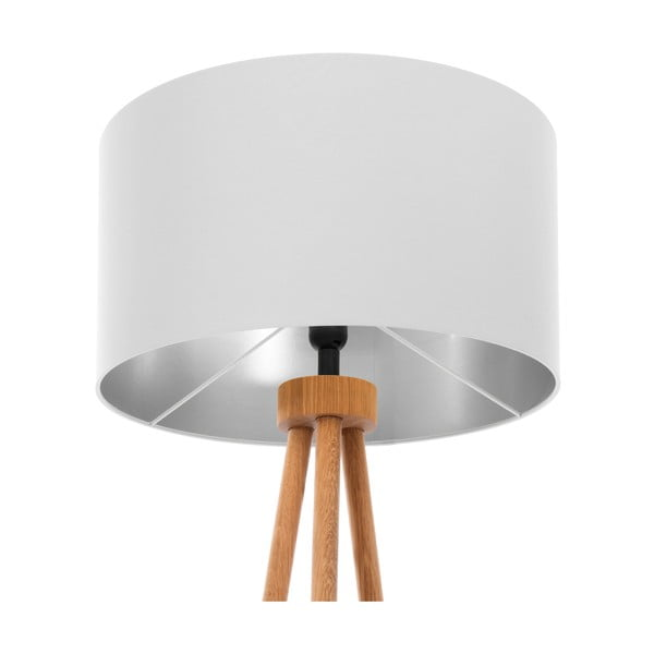 Lampa stojąca Light Gray Silver
