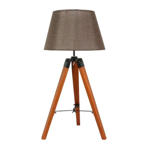 Lampa stołowa Lugano Brown