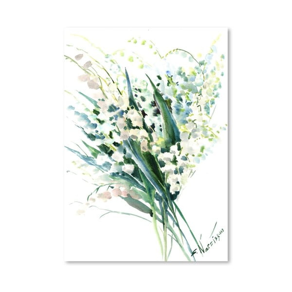 Plakat Lilies (projekt Suren Nersisyan)