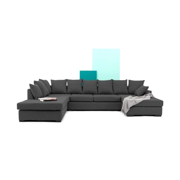Sofa (zestaw wypoczynkowy) VIVONITA Linus, ciemnoszara