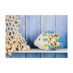 Dywan winylowy Fishnet, 52x75 cm