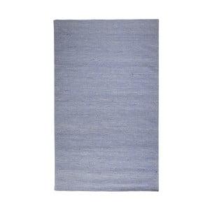 Wełniany dywan Casa Blue/White, 160x230 cm