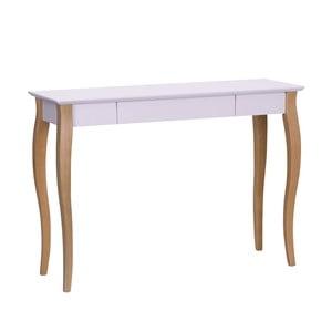 Różowe biurko Ragaba Lillo, dł. 105 cm