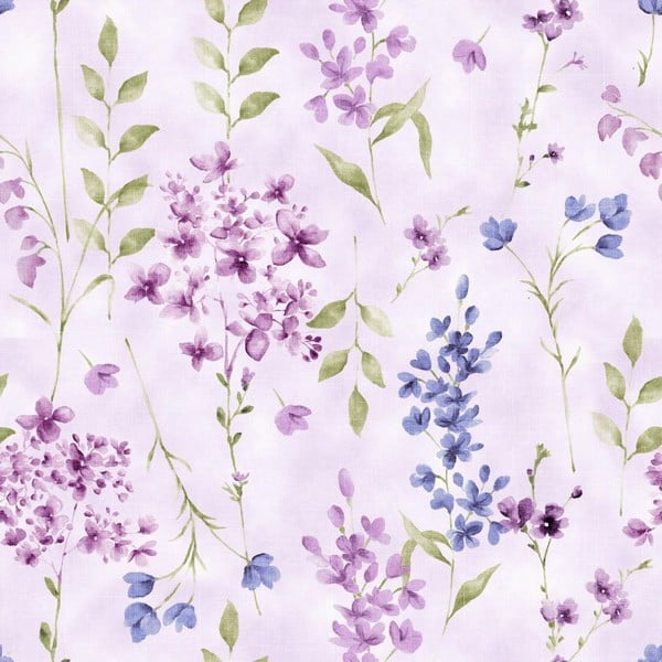 Pościel Nordicos Violet Lila, 140x200 cm