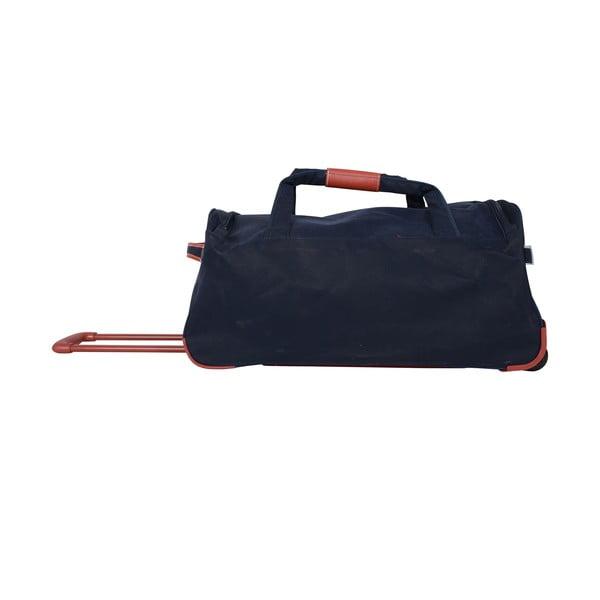 Podróżna torba na kółkach Jean Louis Scherrer Black, 60 l