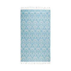 Ręcznik hammam Legacy, niebieski