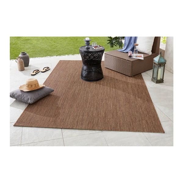 Brązowy dywan odpowiedni na zewnątrz Bougari Match, 200x290cm