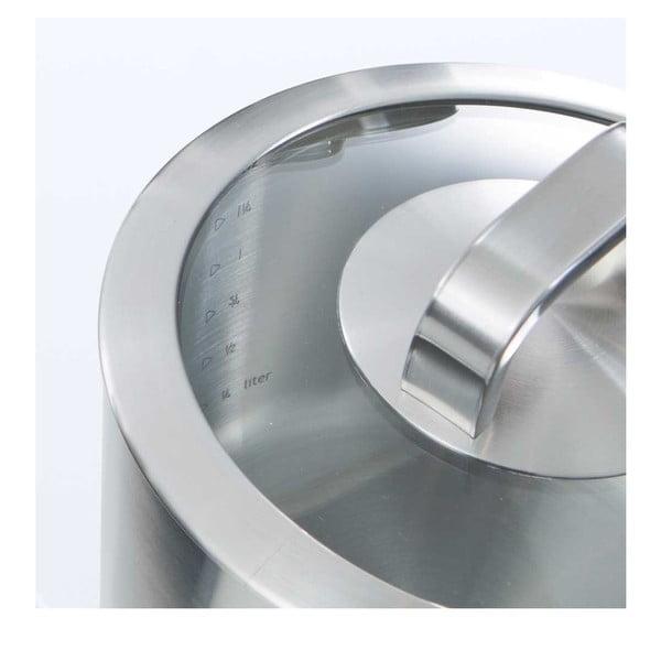 Garnek ze stali nierdzewnej BK Cookware Conical Glass, 18cm