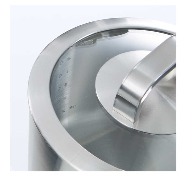 Garnek ze stali nierdzewnej do rosołu BK Cookware Conical Glass, 24cm