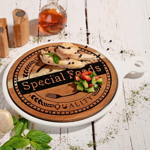 Bambusowa deska do serwowania Round Special