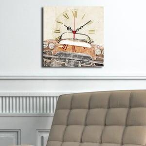 Obraz z zegarem Auto
