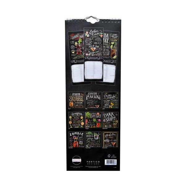 Kalendarz podłużny Portico Designs Lily & Val