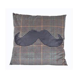 Poduszka Mustache, 45x45 cm