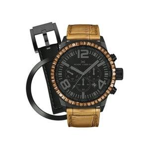 Zegarek damski Marc Coblen z dodatkowym paskiem i obręczą P50