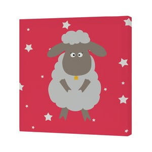 Obrazek White Sheep, 27x27 cm
