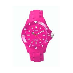 Zegarek Colori 36 White Index Pink