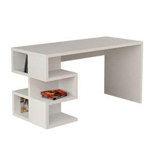Białe biurko Aaron