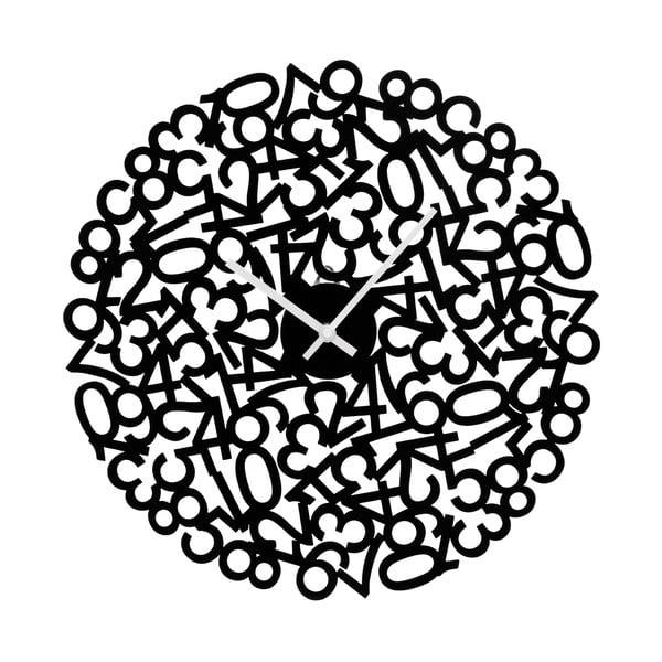 Zegar Black Numbers, 40 cm