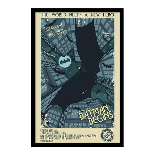Plakat Batman Begins, 35x30 cm