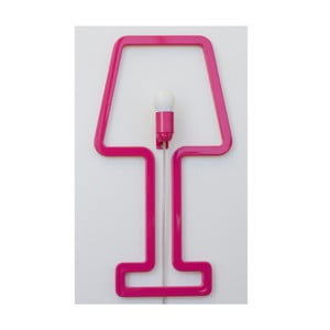 Lampa ścienna Colored Shape Pink