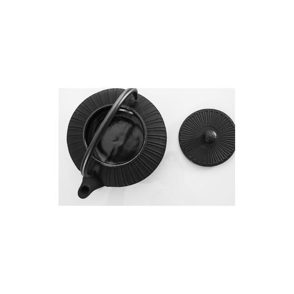 Czajnik żeliwny Bona Black, 1500 ml
