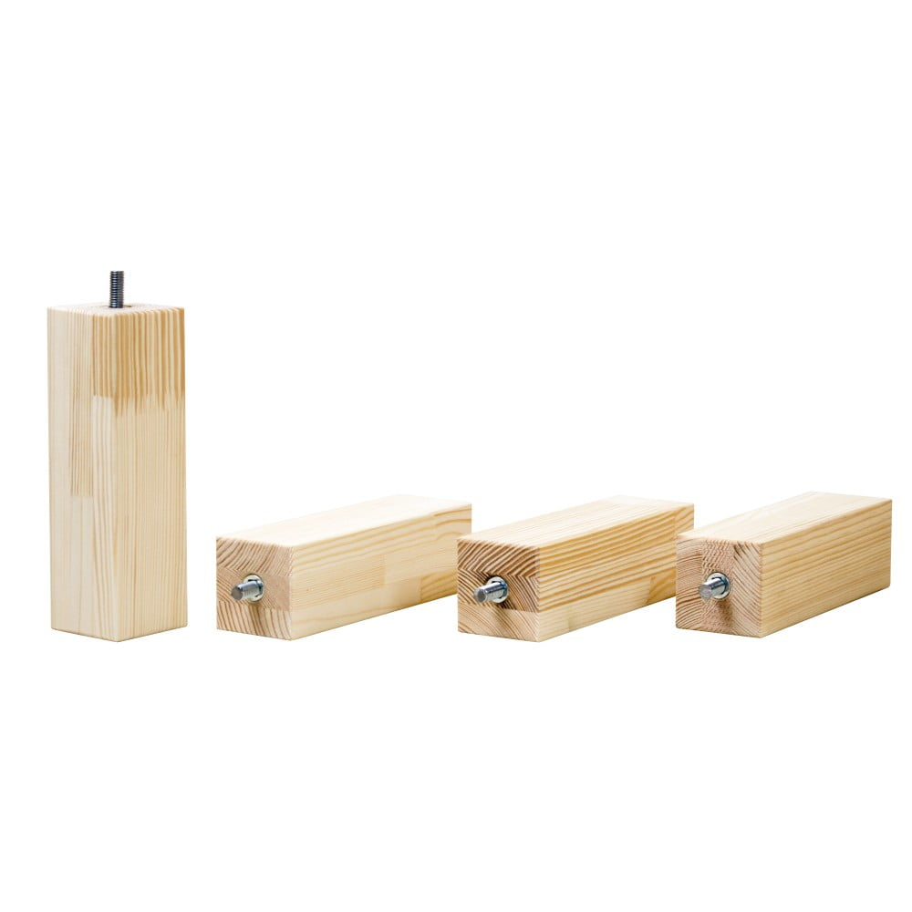 Dodatkowe Nogi Z Drewna świerkowego Do łóżka Benlemi Foots Wysokość 20 Cm Bonami