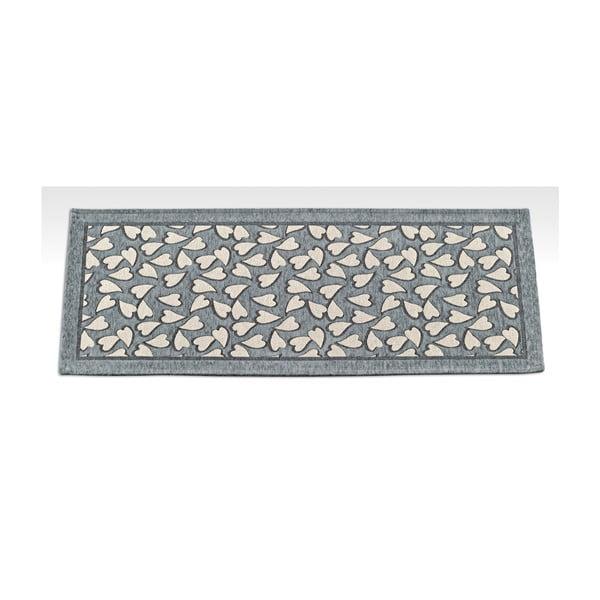 Wytrzymały dywan kuchenny Webtapetti Corazon Grey, 55x190 cm