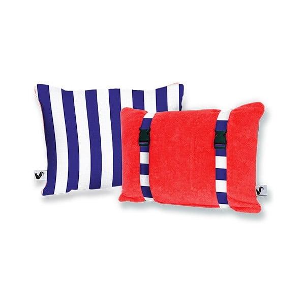 Plażowa poduszka Origama Tomato Stripes