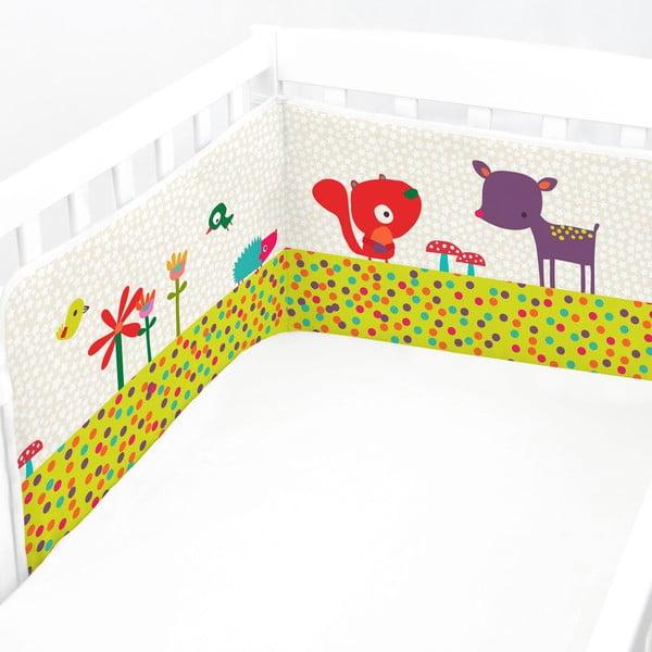 Ochraniacz do łóżeczka Forest Friend, 60x60x60 cm