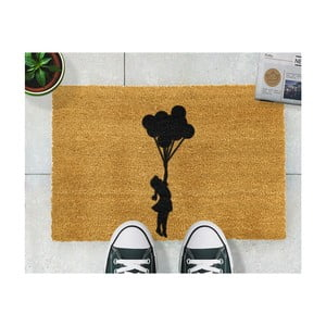Wycieraczka Artsy Doormats Flying Balloon Girl, 40x60 cm