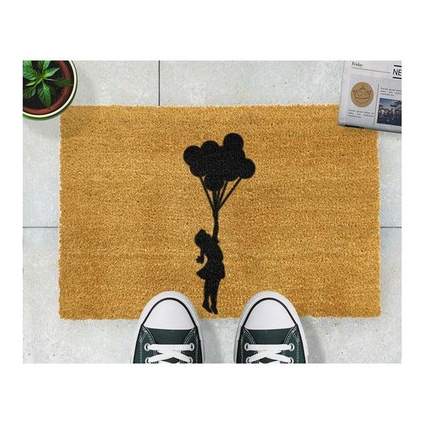 Wycieraczka Artsy Doormats Flying Balloon Girl, 40x60 cm